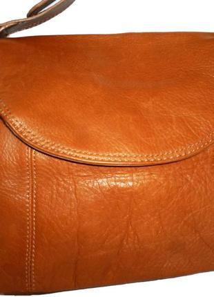 Шикарная сумка натуральная кожа liz claiborne