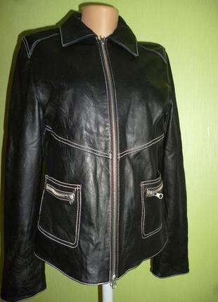 Шикарная куртка натуральная кожа