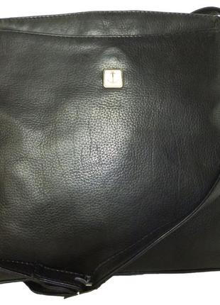 Стильная сумка натуральная кожа   carina fashion италия