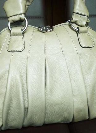 Элегантная вместительная сумка натуральная кожа episode