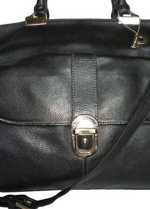 Шикарная большая номерная сумка натуральная кожа picard германия