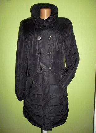 Стильное пальто,пуховик от бренда  cecil