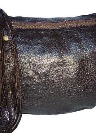 Стильная сумка натуральная кожа swisslaundry