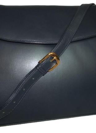 Стильная сумка натуральная кожа