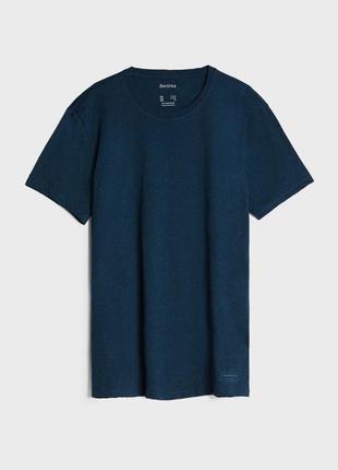 Bershka мужская базовая футболка,новая!
