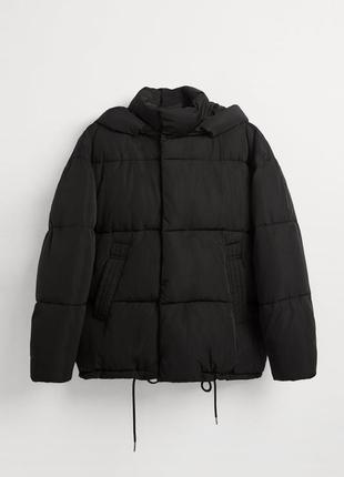 ZARA новая демисезонная мужская оверсайз куртка
