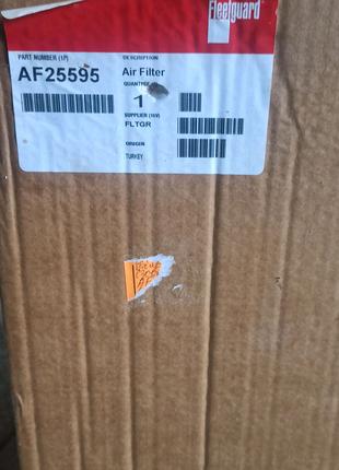 AF25595 фільтр повітряний Fleetguard