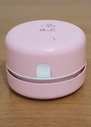 Настольный мини-пылесос, заряжаемый через USB кабель