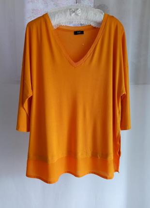 Вискозная футболка большого размера 18(46)xxxl