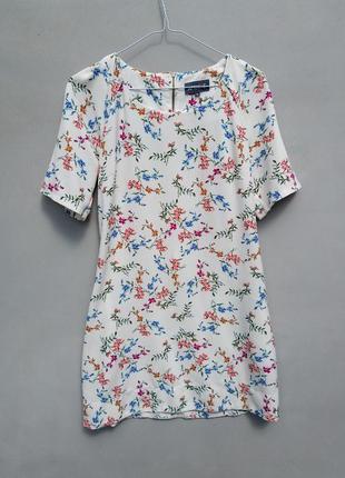 Легкое платье в цветочный принт р 8 s(36)
