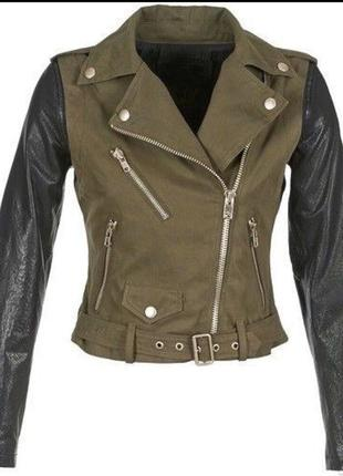 Diesel куртка косуха кожанка италия