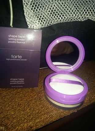 Tarte shape tape setting powder