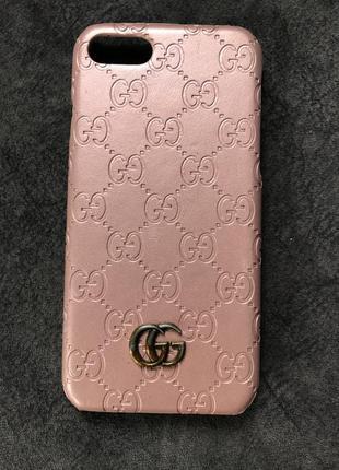 Чехол на айфон iphone 7 gucci