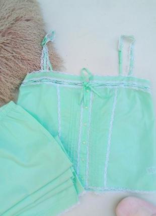 Котоновая пижама большого размера 18(46) bhs