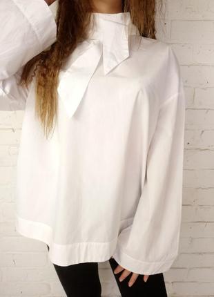 Рубашка свободного кроя р l 12