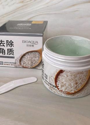 Гель-скатка пилинг для лица с рисовым экстрактом 🍚