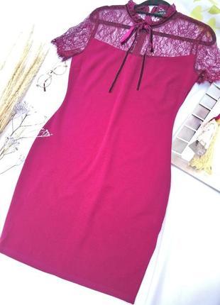 Нарядное кружевное платье р m/l