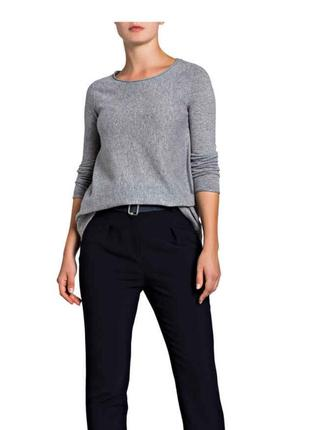 Кашемировый пуловер р xs /s