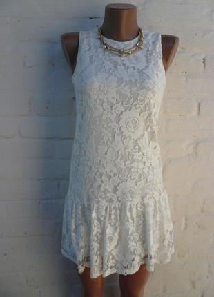 Распродажа стильное  маленькое нарядное платье new look р 6-8