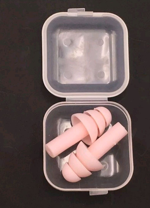 Мягкие силиконовые беруши