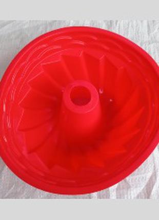 Форма силиконовая для выпечки Пудинг (большая) 22.5 см