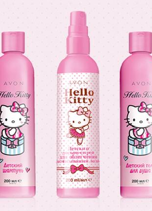 Детский набор Avon Hello Kitty для Вашей принцессы