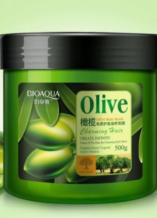 Маска для волос Bioaqua Olive Hair Mask
