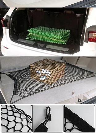 Сетка органайзер в багажник автомобиля