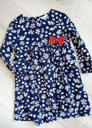 Симпатичное платье цветочный принт