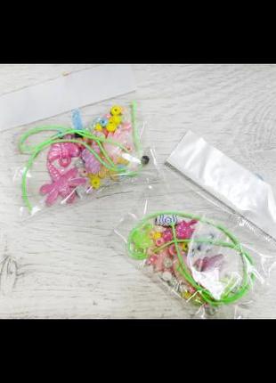 Детский набор для плетения браслетов