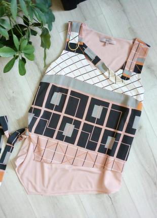 Оригинальный топ блуза ассиметричный крой