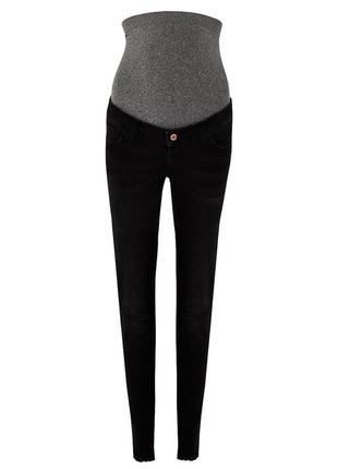 Стильные рваные джинсы для будущих мам