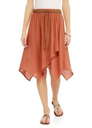 Легкая воздушная юбка  casual стиля