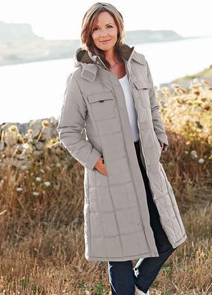 Зимнее удлиненное пальто cotton traders