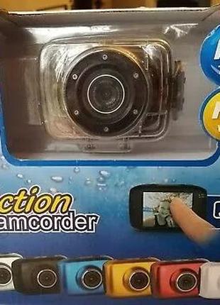 Водонепроницаемая екшн камера