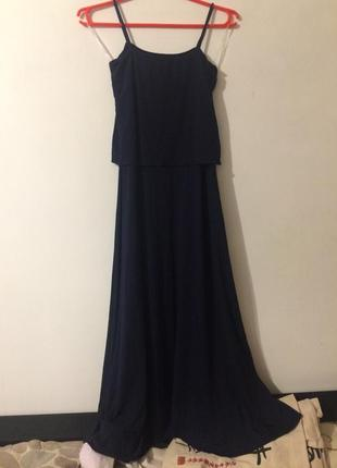 Jami сарафан платье темно-синий