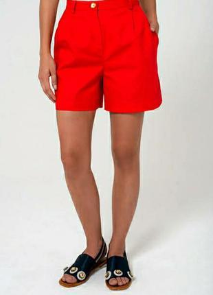 Ярко красные шорты Бермуды 🔥