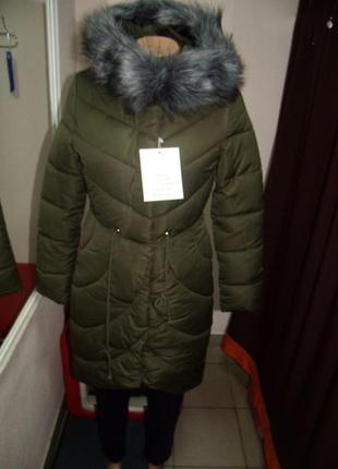 Куртка женская зима стильная  размер :36.38.40.42
