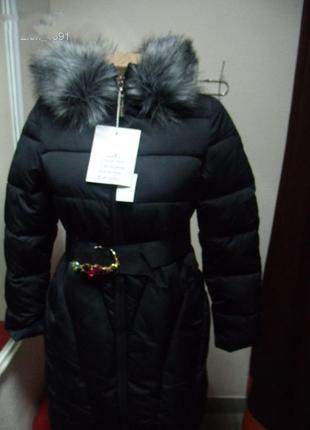 Куртка женская стильная зима размер :36