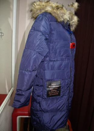 Куртка женская стильная зима размер : ххl
