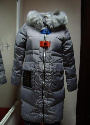 Куртка женская стильная зима размер :м, ххl