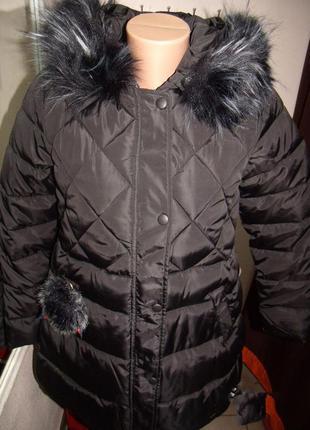 Куртка женская стильная зима размер : l,