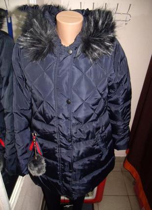 Куртка женская стильная зима размер :хl,