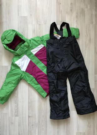 Классный лыжный костюм куртка и полукомбинезон crivit. зима. 1...