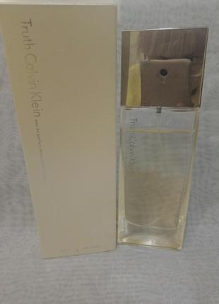 Calvin klein truth парфюмированная вода