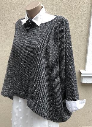Обьемная,ассиметрия блуза,кофта-реглан,этно,бохо стиль