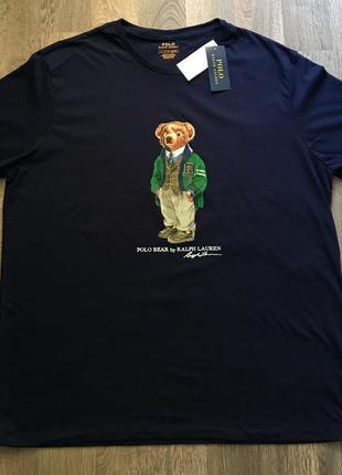 Ralph lauren polo bear оригинальная мужская футболка