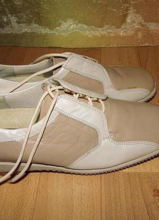 Кожаные туфли 37 р uk 4 dorndorf