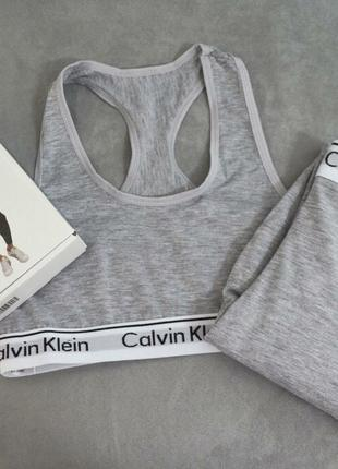 Спортивный костюм(лосины+топ) CALVIN KLEIN