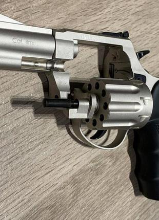 """Револьвер п/п Флобера EKOL Viper 3 """" (хром ) 4mm Z20.5.001 2019р"""